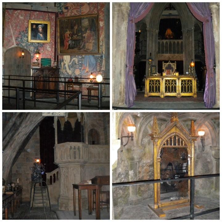 Hogwarts Castle Classroom Replicas