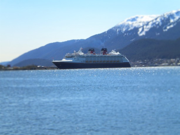 Disney Boat in port at Juneau