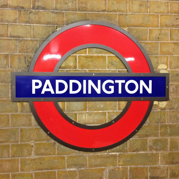 Paddington Station Sign