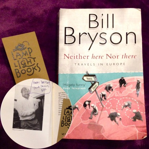 Bryson Book Signed