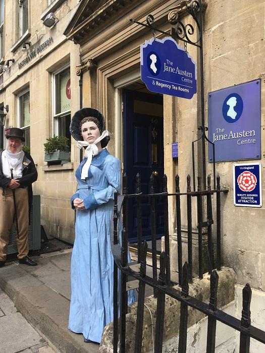 Jane Austen Centre Entrance