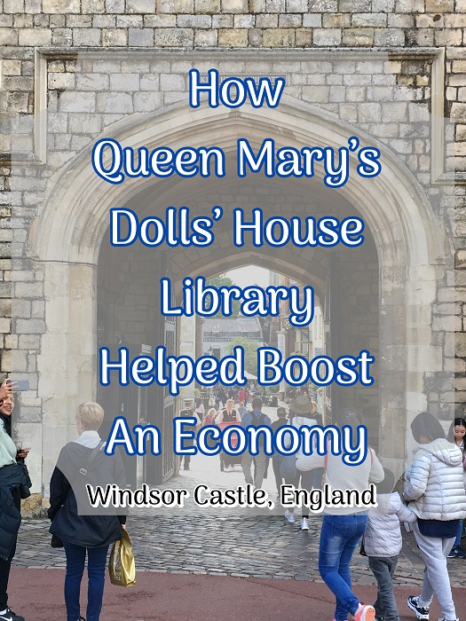 Windsor Castle: How Queen Mary's Dolls' House Library Helped Boost An Economy