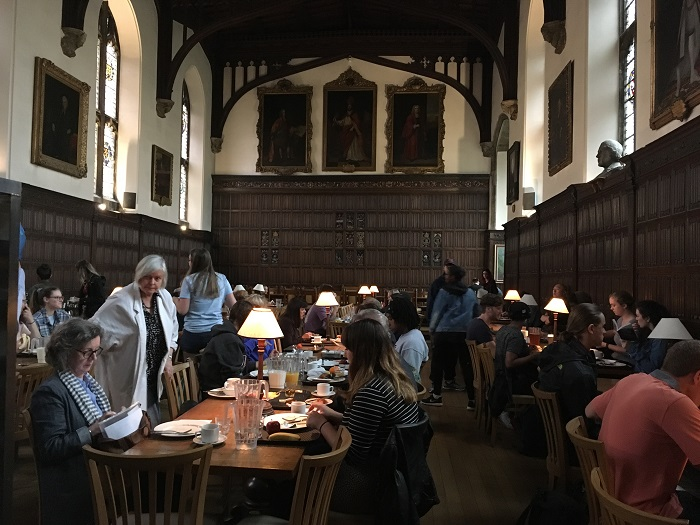 Literary Oxford: Magdalen College, Oxford dining hall
