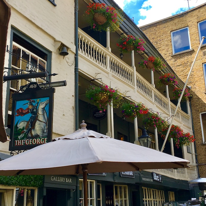London Literary Sites: The George Inn