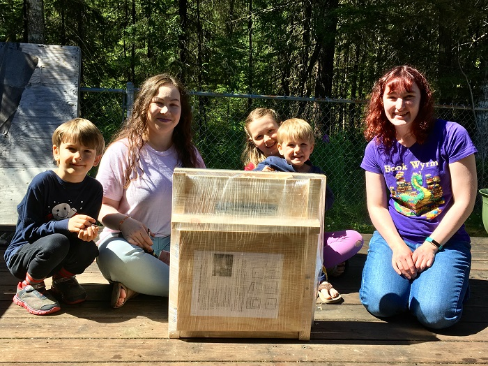 Little Free Library pre-build