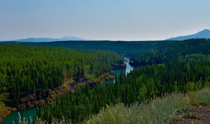 Miles Canyon, Yukon Territory, Canada