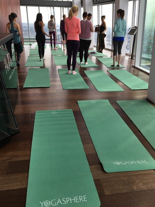 Yogasphere at The Shard