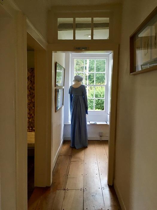 Jane Austen's Blue Dress