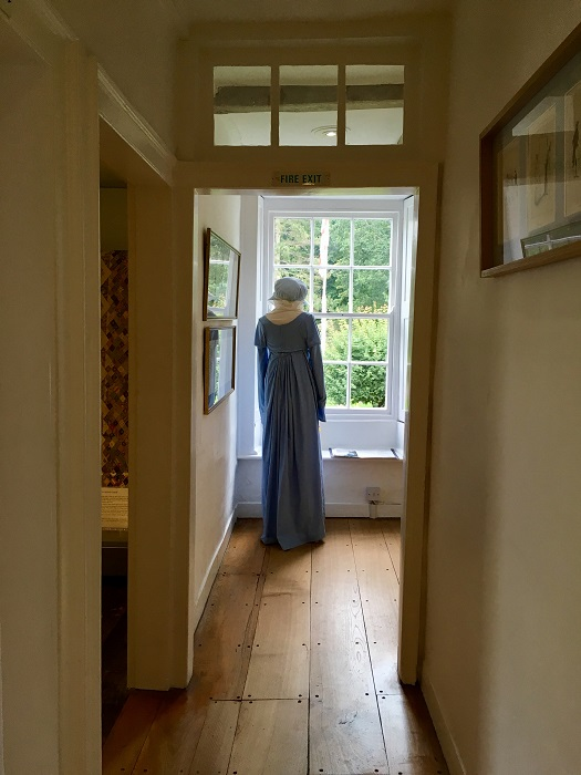 Jane Austen's Blue Dress