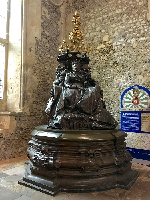 Victoria at Winchester