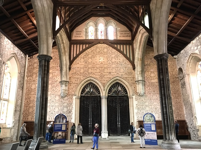Winchester Great Hall Mural