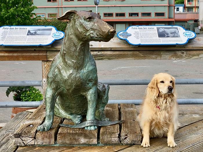 Patsy Ann & Dog