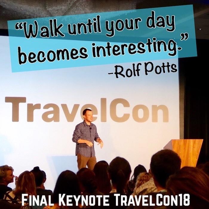 Rolf Potts TravelCon KeyNote