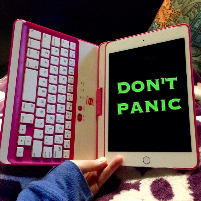 5 Lessons for Beginning Bloggers: Don't Panic