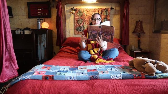 Sylvia Beach Hotel J. K. Rowling room