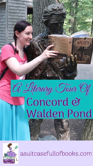 Concord and Walden Pond Pinterest Pin