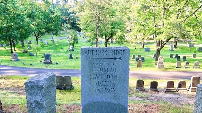 Author's Ridge, Concord