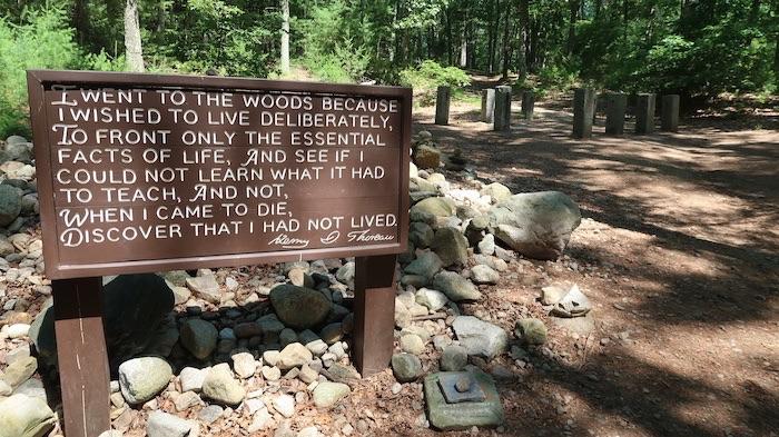 Thoreau Original Cabin Site, Concord