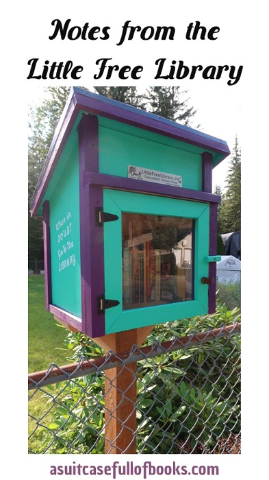Notes from the Little Free Library Pinterest Image