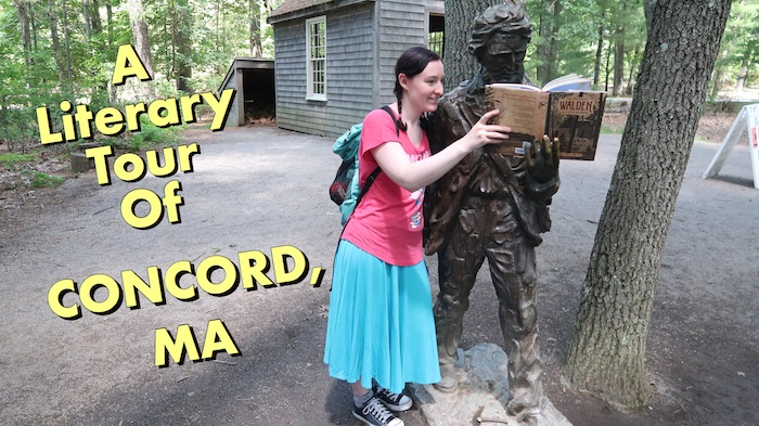 Literary Tour of Concord Vlog