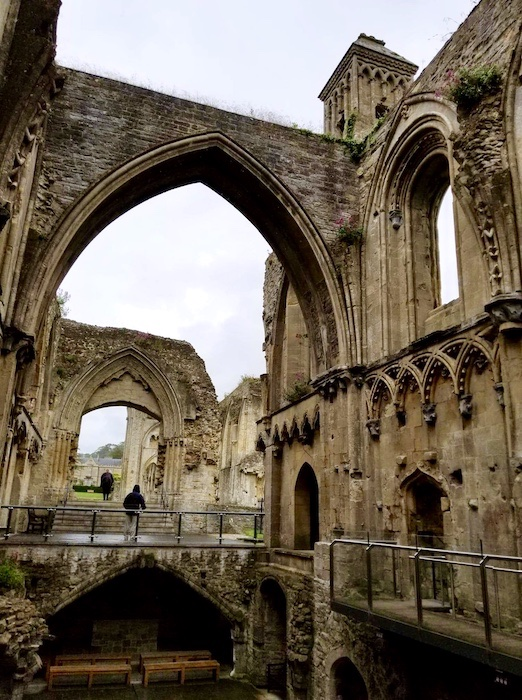 Remains of Glastonbury Abbey
