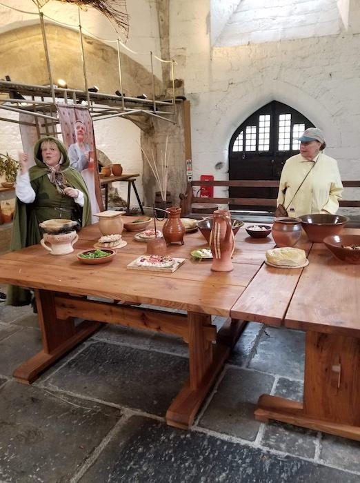 Glastonbury Abbey Kitchen