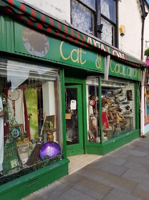 Glastonbury New Age Shop