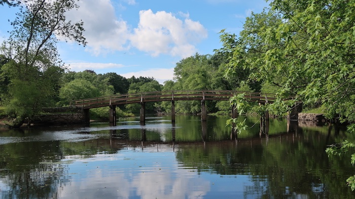 Bridge behind the Old Manse