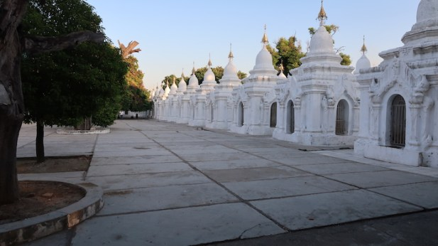 White page shrines