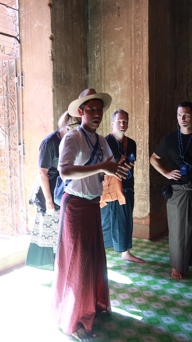 Local Myanmar guide, Aung