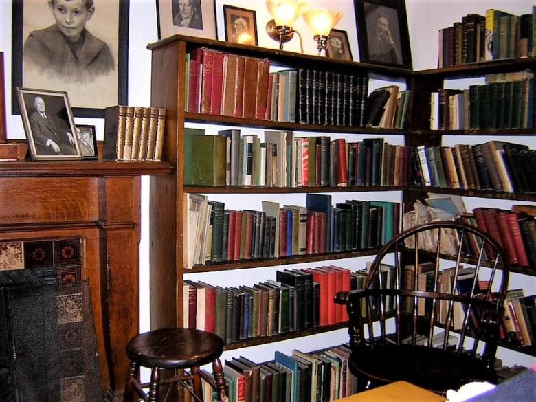 Haverford College library Rufus Jones room
