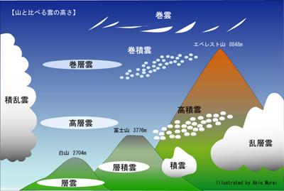 雲 名前 種類