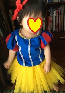 ハロウィン 仮装 白雪姫 子供