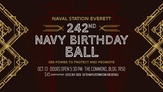 NAVSTA Everett Navy Birthday Ball
