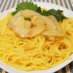 菊芋カルボナーラ