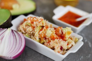 Asian Crab & Avocado Salad