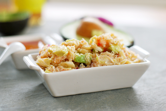 Asian Crab Avocado Salad