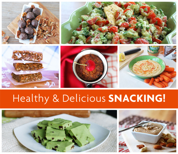 Healthy & Delicious Snacks | A Sunshiny Day