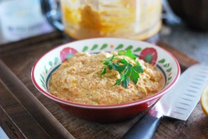 Roasted Red Pepper Artichoke Dip