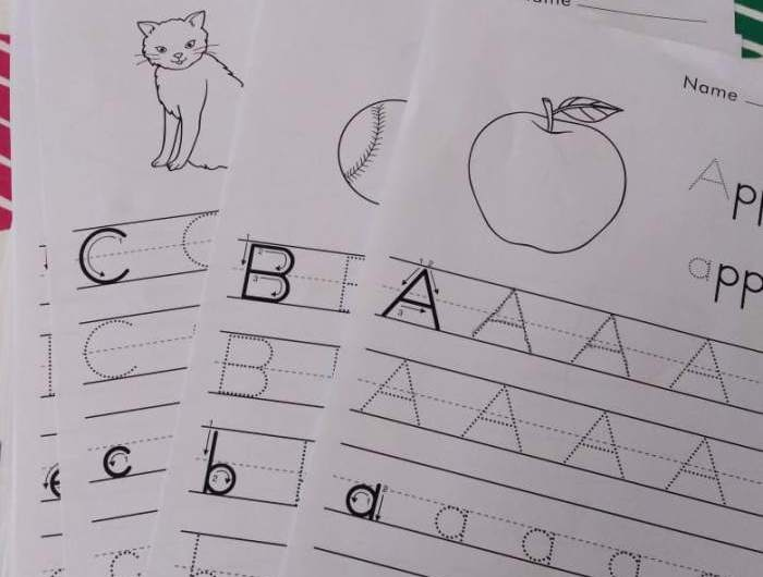 ABC TRACING WORKSHEETS-FREE PDF DOWNLOAD