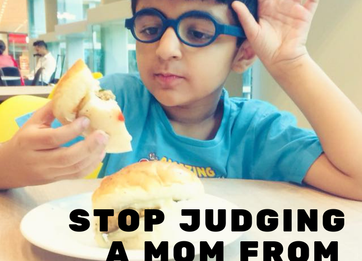 STOP JUDGING A MOM FROM WHAT HER KIDS EAT