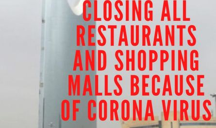 SAUDI ARABIA CLOSING ALL RESTAURANTS AND SHOPPING MALLS BECAUSE OF CORONA VIRUS