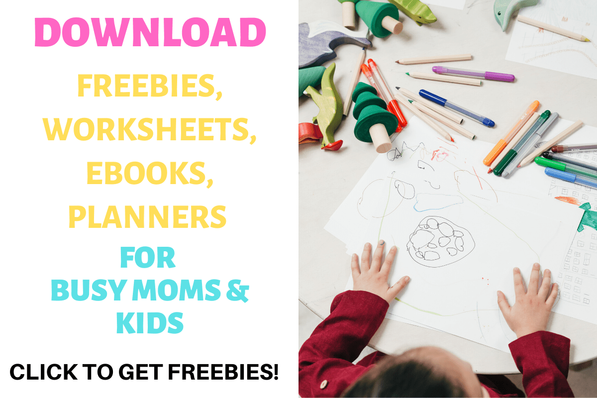 Access the freebies, planners, coloring sheets, printables