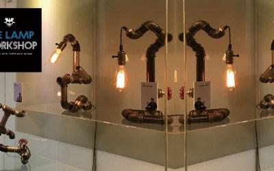 翻轉舊靈魂 – 工業風水管燈