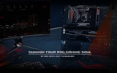 技術研發力 / E-SPORT GAMING SOUL OF ROG ARE SUMMONED BY SPOTLIGHT / ROG投射燈召喚電競魂