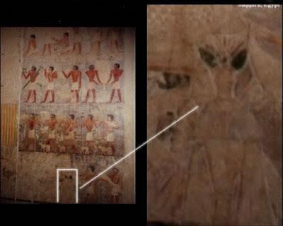 Extraterrestre en el Egipto Antiguo