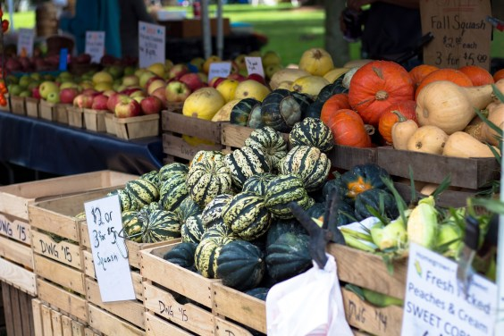 farmers markets are food choices help the planet