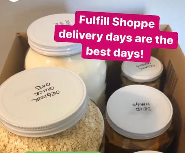Fulfill Shoppe zero waste groceries