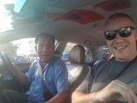 O nosso taxista preferido :) FIM DO VIDEO!