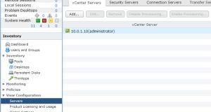 vCenter Servers